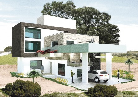 Seed architect engineer interior designer kathmandu for Small house design in nepal