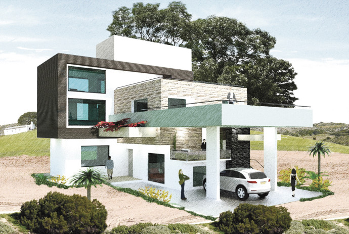 House design 1 seedseed for Residential house design in nepal