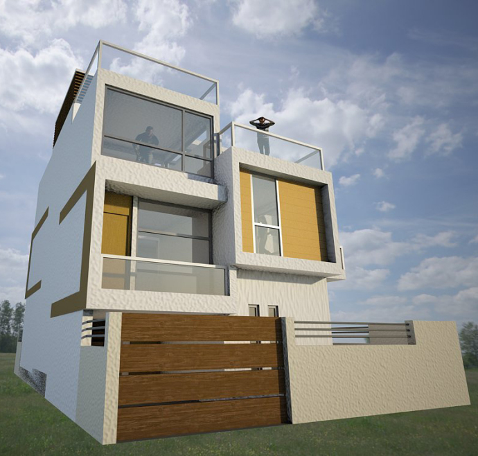 Home design kathmandu homeriview for Residential house design in nepal