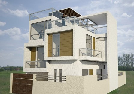 Seed architect engineer interior designer kathmandu for Residential house design in nepal